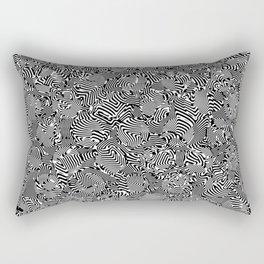 Superwarped Polka Dot Freakout Rectangular Pillow