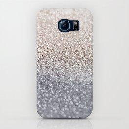 SILVER GLITTER iPhone Case