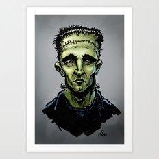 Frankenscott Art Print