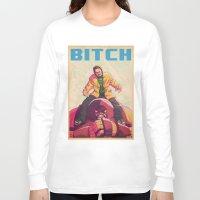 jesse pinkman Long Sleeve T-shirts featuring jesse pinkman x juggernaut by m7781store