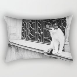 Istanbul Cat Rectangular Pillow