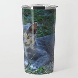 Cat Painting Travel Mug