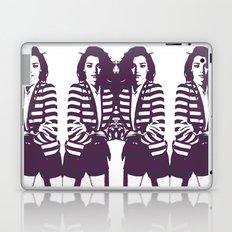 Miranda Kerr Stripes Laptop & iPad Skin