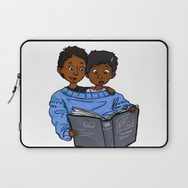 The Reading Shirt Laptop Sleeve
