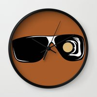 terminator Wall Clocks featuring Terminator by FilmsQuiz