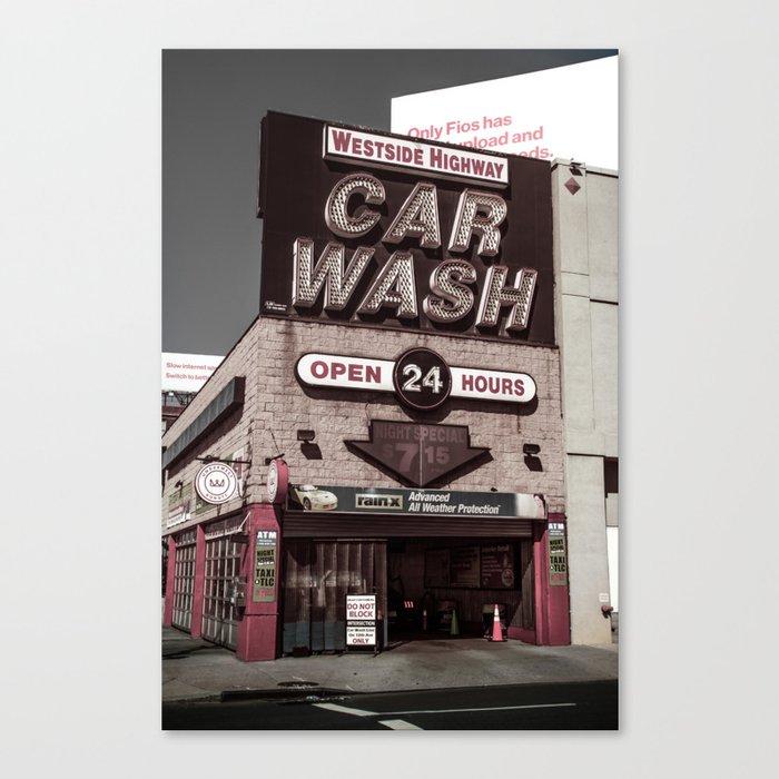 Intrepid Car Wash Canvas Print