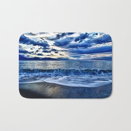 Sunrise over the South Pacific Bath Mat