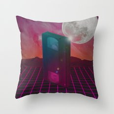 Back to the 80s Throw Pillow