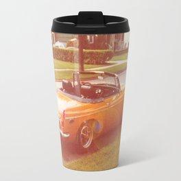 Tangerine Speedo Travel Mug