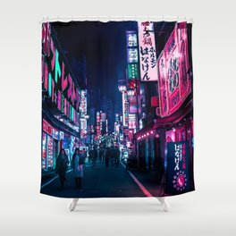 Nocturnal Alley Shower Curtain