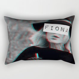 Fiona Goode & the Cig Rectangular Pillow