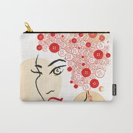 Afro Carry-All Pouch