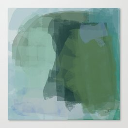 Incredible sensation of fresh air Canvas Print