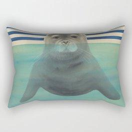 Polar Plunge Rectangular Pillow