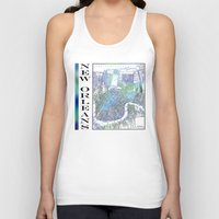 new orleans Tank Tops featuring New Orleans by Catherine Holcombe