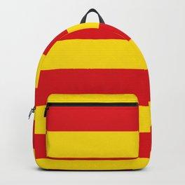 senyera catalunya-catalunya,cataluna,catalonha,espanya,iberica,Barcelona Backpack