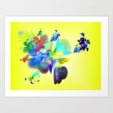 colour is love Art Print