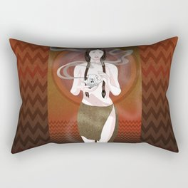 Fox Spirit Rectangular Pillow