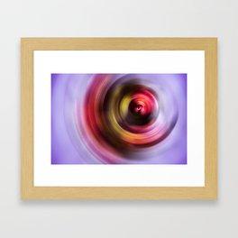 Floral Storm Framed Art Print