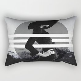 Behind the lines Rectangular Pillow