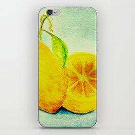 Vintage Lemons iPhone Skin