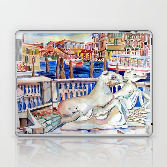 Grand Canal Venice Italy Laptop & iPad Skin