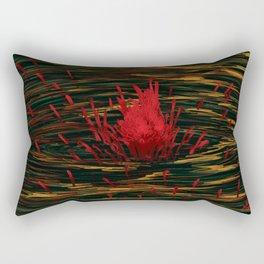 Water Flower Rectangular Pillow