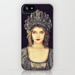 Lillian Gish, Vintage Actress iPhone Case