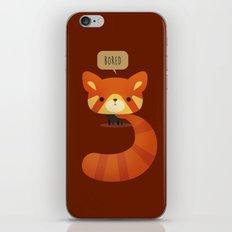 Little Furry Friends - Red Panda iPhone & iPod Skin