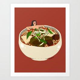 Bun Bo Hue But Make It Sexy Art Print