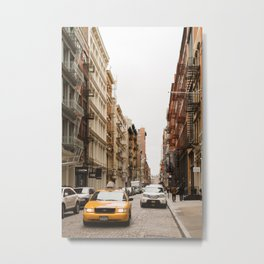 In Soho Metal Print
