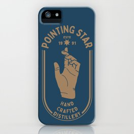 POINTING STAR iPhone Case