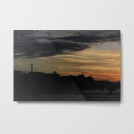 #ParisPostcards || Bonne nuit Metal Print