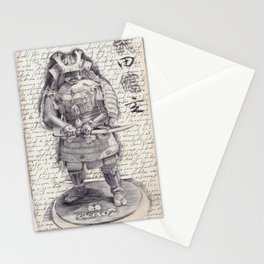 Samurai Observational Drawing Stationery Cards
