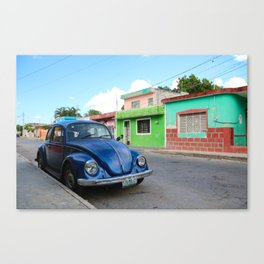 El Yucatan Canvas Print