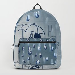 Rainy going home Backpack