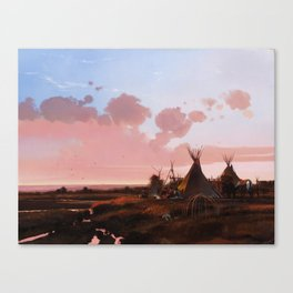 Song from the Past Canvas Print