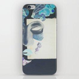 portrait: people have sides & sometimes we hide them iPhone Skin