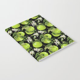 Blooming pomelo with fruits Notebook
