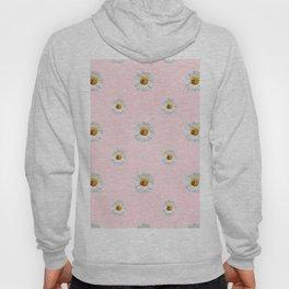 Flower Flowers Daisies in love - pink floral pattern Hoody