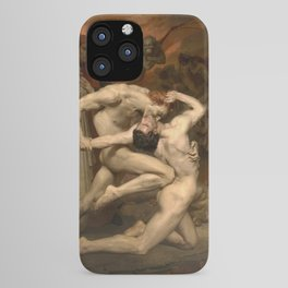 DANTE AND VIRGIL - WILLIAM-ADOLPHE BOUGUEREAU iPhone Case
