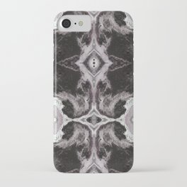 Within the Void - Gothic Inkblot Graphic iPhone Case