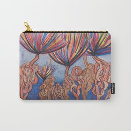 Knot Flowers Carry-All Pouch
