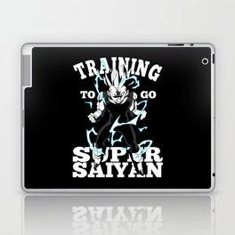 Training to go super saiyan Laptop & iPad Skin