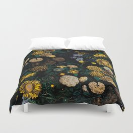 EXOTIC GARDEN - NIGHT II Duvet Cover