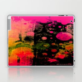 In a Pink and Black Mood Laptop & iPad Skin