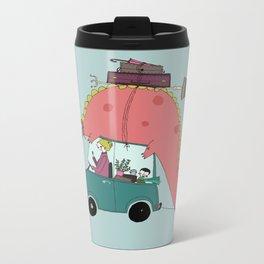 Dino on the move Metal Travel Mug
