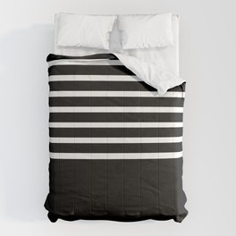 BLACK & WHITE AND BLACK AGAIN Comforters