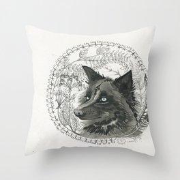 flora&fauna Throw Pillow