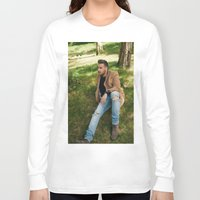 liam payne Long Sleeve T-shirts featuring Liam Payne by behindthenoise